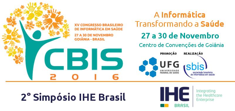 2° Simpósio IHE Brasil, no CBIS2016